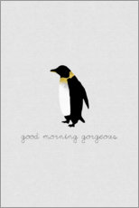 Gallery print  Good Morning Gorgeous - Penguin Set - Orara Studio