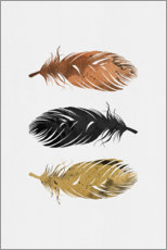 Wall sticker  Feathers - Orara Studio