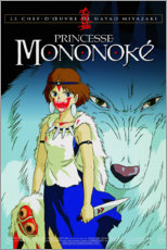 Premium poster Princess Mononoke (French)