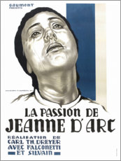 Canvas print  The Passion of Joan of Arc - Entertainment Collection