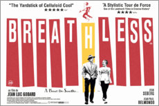 Premium poster Breathless