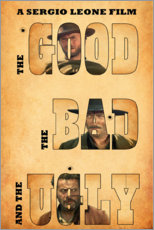 Premium poster  The good, the bad and the ugly - Entertainment Collection