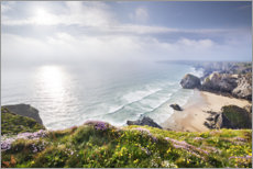 Gallery print  Spring on the Cornish coast - The Wandering Soul