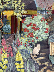 Canvas print  Neighbour's garden - Deborah Eve Alastra