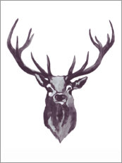 Wall sticker  Deer - Mantika Studio