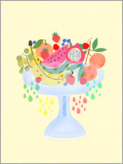 Canvas print  Fancy Fruitbowl - Elisandra Sevenstar