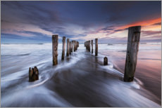Acrylic print  Dilapidated pier at the sea - Sven Müller