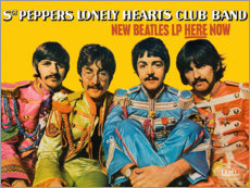 Premium poster  Sgt. Pepper's Lonely Hearts Club Band - Entertainment Collection