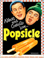 Canvas print  Popsicle - Advertising Collection