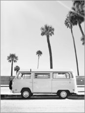 Acrylic print  Bus under the palm trees - Sisi And Seb