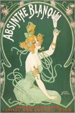 Canvas print  Absinthe Blanqui (French) - Nover