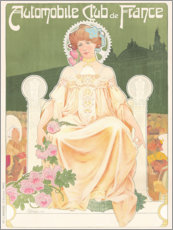 Gallery print  Automobile Club France (French) - Henri Privat-Livemont