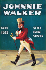 Canvas print  Johnny Walker