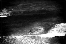 Foam board print  Stand Up Paddle in the ocean - Fabio Sola