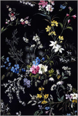 Canvas print  Floral pattern II - William Kilburn