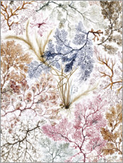 Premium poster  Floral pattern IV - William Kilburn
