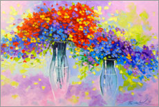 Premium poster  Symphony of flowers - Olha Darchuk