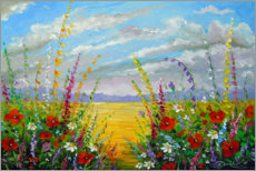 Canvas print  Summer flowers in the field - Olha Darchuk
