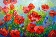Gallery print  Morning poppies - Olha Darchuk