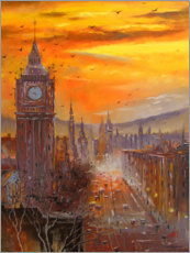 Gallery print  In the evening in London - Olha Darchuk