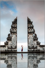 Canvas print  Sky Gate, Bali - Matteo Colombo