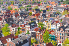 Canvas print  The roofs of Amsterdam - George Pachantouris