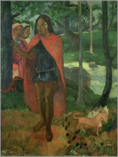 Premium poster  The magician of Hiva Oa - Paul Gauguin