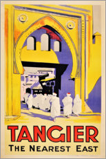 Acrylic print  Tangier, the nearest east - Travel Collection