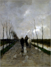 Gallery print  A Dutch road - Anton Mauve