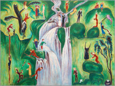 Canvas print  Waterfall - Nils von Dardel