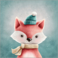 Canvas print  Little Fox - Elena Schweitzer