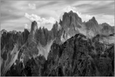 Acrylic print  The summits - Daniel Fleischhacker