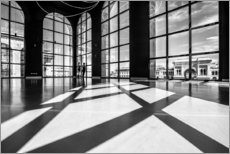 Aluminium print  Light and shadow - Marco Tagliarino