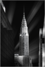 Premium poster Chrysler Building