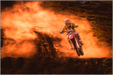 Gallery print  Motocross in the mud - Salkov Igor
