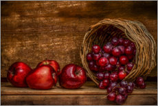 Premium poster Still life in red