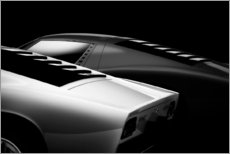 Aluminium print  Two sports cars - Holger Droste