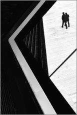 Wall sticker  The conspiracy theory - Paulo Abrantes