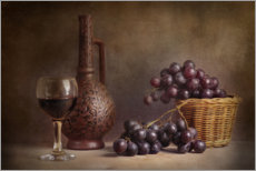 Acrylic print  Still life with wine - Stanislav Aristov