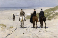 Gallery print  Morning Ride along the Beach - Anton Mauve