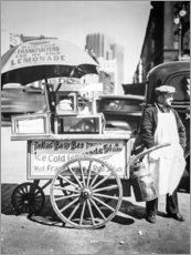 Premium poster  Hot dog and sodas stand in Manhattan - Christian Müringer