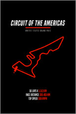 Gallery print  F1 United States Grand Prix (Circuit of the Americas) - Michael Tarassow