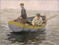 Canvas print  In the Whiting Ground - Harold Harvey