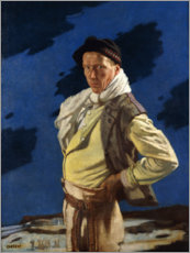 Acrylic print  The Man from Aran - Sir William Orpen