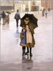 Aluminium print  The Rain it Raineth Every Day - Norman Garstin