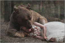 Foam board print  My great protector - Olga Barantseva