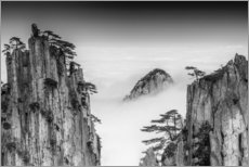 Acrylic print  Huangshan in China - Chenzhe