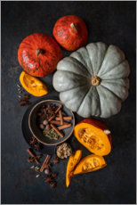 Acrylic print  Bringing autumn to the table - Diana Popescu