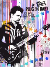 Acrylic print  Matt Bellamy, Muse - 2ToastDesign