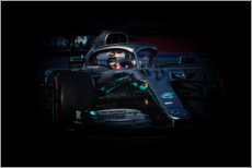 Gallery print  Lewis Hamilton, Russian GP 2019